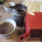 和さ田 - 最後はやっぱり蕎麦湯
