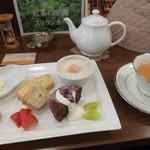 紅茶日和 - スイーツプレートセット