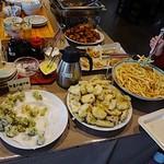 万作 - 天ぷら、鶏の唐揚げ