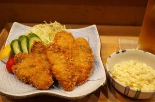 おでん工房 和乃子 - カキフライ(1600円)