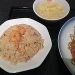 551蓬莱 福島店 - Aセットのハーフ炒飯・スープ