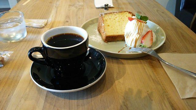 ジュウノイチ ケトル - 深煎りブレンドと柚子のシフォンケーキ