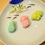 本煉果子 炊蓮 isshin  - 干菓子