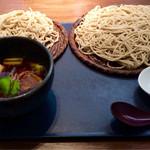36274602 - スパイシー豚角煮汁蕎麦