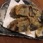 旬屋 - 椎茸の梅しそ揚げ、450円美味しいです♬