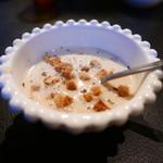 FAB - ランチセットのスープ。