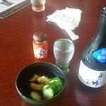 36276645 - 2013/08/16 13:10 冷酒(花の郷 本醸造)
