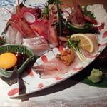 三代目 浜包丁 - この日のお刺身、すごく美味しかったです!