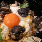 36279357 - [ランチ] 究極の親子丼 九州みつせ鶏を炭火焼きに