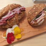 Nick - ローストポークとローストビーフのサンドイッチ