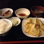 五十亭 - 鳥天ぷら定食780円