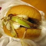 フレッシュネスバーガー - ネギ味噌バーガー 320円