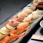 すし田 - 小樽にぎり 5400円