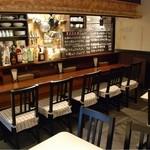 ルセット シェ イイナ - カウンター&テーブル2卓