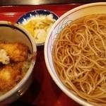 長寿庵 蕎匠 - ランチ ミニいか丼とそばのセット 920円
