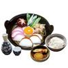 鍋焼きうどん定食(ごはん付き)