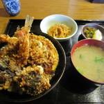 えび田 - 「上天丼」一式