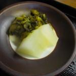 えび田 - 「お新香」