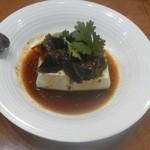 中国料理 杏花飯店 - ピータン豆腐