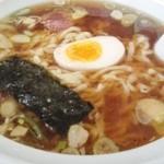 だいしん亭 - 白河ラーメン風の極太ちぢれ麺
