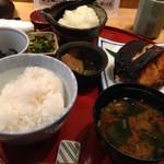 36284741 - 黒むつの柚香焼き定食:1,295円(税込)
