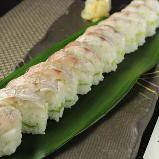 『花鯛寿司』
