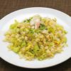 ズワイ蟹とレタスの炒飯