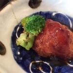 とれとれ海鮮 浜の大将 - 一口サイズの9種のお惣菜(おかわり自由)