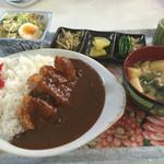 なにわ屋 - カツカレー ¥700
