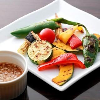 ◆熟成肉×京野菜のマリアージュ