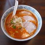 麺屋 壱福 - 辛味噌らーめん(ねぎちゃーしゅー)1,050円