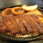 うおせい - ステーキ定食 1100円