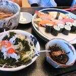 うおせい - 寿司定食1000円