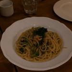 36294099 - 桜海老と菜の花のパスタ