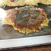 お好み焼き いのうえ - 料理写真:豚玉+そば半玉