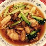 中国料理 小花 - 牡蠣そば 1030円