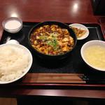 36299380 - 麻婆豆腐定食880円