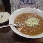 坦坦麺 餃子工房 北京 - 坦々麺とセットのご飯