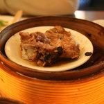 香港茶樓 - スペアリブの豆鼓蒸し