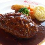 レストラン モントレー - 黒胡椒焼きハンバーグ