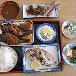 市五郎寿し - 煮魚定食1,100円