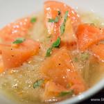 うしごろバンビーナ - バジル香る!トマト冷麺【2015年3月】