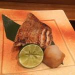 旬菜料理 山灯  - 2500円のコースから喉黒の塩焼き+1500円程