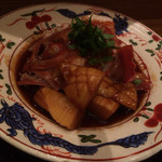 旬菜料理 山灯  - きんきを煮魚にして頂いた。新筍と共に絶品