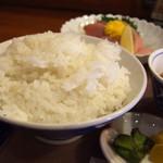 割烹居酒屋のんき - ご飯