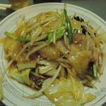 中華料理 喜楽 - 肉野菜炒め