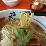 彦根塩元帥 - 中太平麺