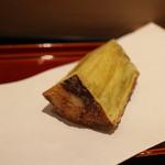 てんぷら 近藤 - 名物、サツマイモの天ぷら