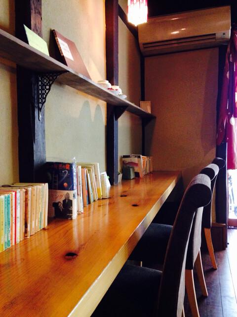 カフェ 火裏蓮花 - 訪問した人が書き込めるメッセージ本もあります‼︎