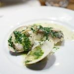 チニャーレエノテカ - 蛤、イタリアンパセリ